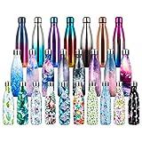 500ml Botella de Agua de Acero Inoxidable Botella Termica, Botella Sin Bpa & Eco Friendly, Mantiene...