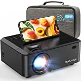 WiFi Mini Projector, DBPOWER 7000L HD Video Projector with Carrying Case&Zoom, 1080P and iOS/Android...