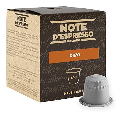 Note D'Espresso Preparato Solubile per Bevanda al Gusto di Orzo - 108 g (40 x 2.7 g) Esclusivamente Compatibili con le macchine per caffè a capsule Nespresso*