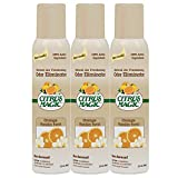 Citrus Magic Natural Odor Eliminating Air Freshener Spray Orange-Vanilla Swirl, Pack of 3, 3.0-Ounces Each