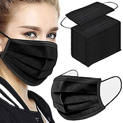 1.3 Layers of Material-It's made of 3 layers of high-quality non-woven fabric; it has a stronger filtering effect and is more warm and breathable. 2.Unique Designed - Comfortable elastic earloop, extra-soft ear loops eliminate pressure to the ears. I...