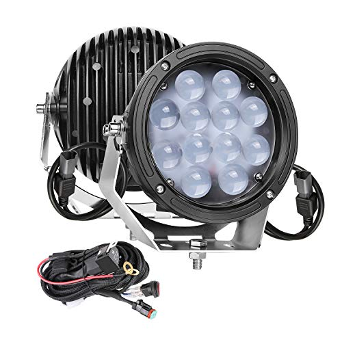 Round LED Lights, SWATOW 4x4 2pcs 7 inch...
