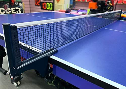 JINTN Tischtennisnetz Ping Pong Netz Ersatznetz Einziehbares Netz Faltbar Multifunktionsnetz Tennis Tischtennis Net Ersatztraining Übungszubehör für jeden Tisch, Unterwegs, im Urlaub oder im Garten