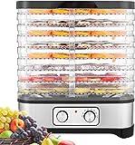 Hopekings Déshydrateur Alimentaire 400W Déshydrateur Fruits et Légumes 8...