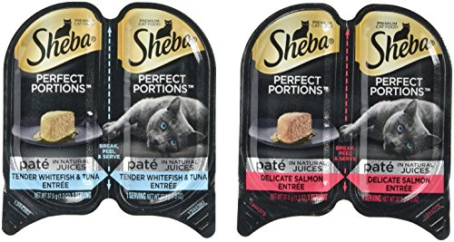 Sheba-Perfect-Portions-Wet-Cat-Food-Delicate-Salmon-Entree-and-Tender-Whitefish-and-Tuna-Entree-12-26-Oz-Twin-Pack-Trays