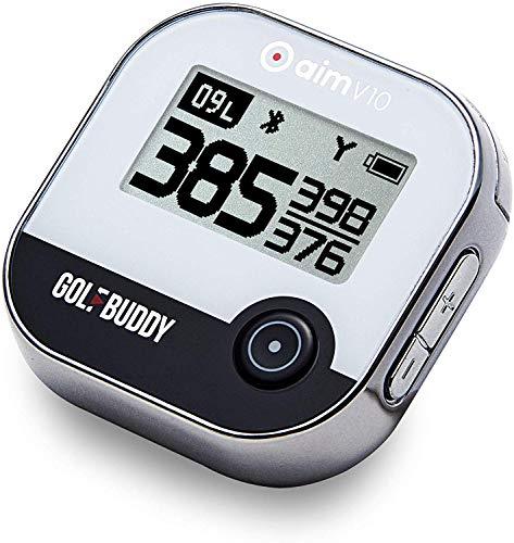 GOLFBUDDY aim V10 Talking Golf GPS, Chrome