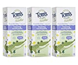 Tom's of Maine Fluoride-Free Toddler Training Toothpaste, Mild Fruit, 1.75 oz. 3-Pack
