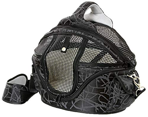 Karlie Shopper De Luxe, Nylon, 48 x 40 x 36 cm, M, schwarz