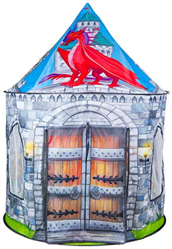 Dragon and Knight Castle Play Tent Playhouse