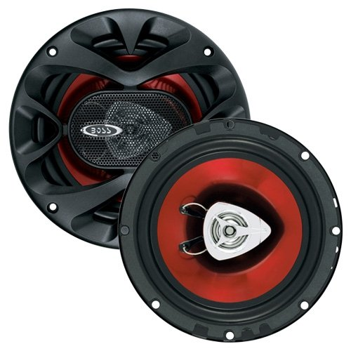 BOSS Audio Systems CH6500 Car Speakers - 200 Watts of Power Per Pair and 100 Watts Each, 6.5 Inch, Full Range, 2 Way, Sold in Pairs, Easy Mounting