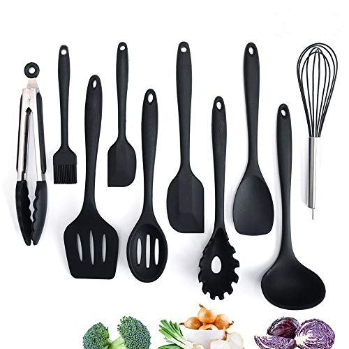 Küchenhelfer Set Silikon von Adkwse (10 teilig)