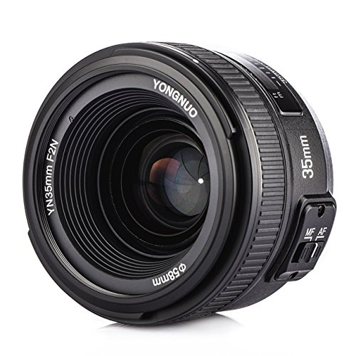 YONGNUO YN35mm F2N 単焦点レンズ ニコン Fマウント フルサイズ対応 広角 標準レンズ