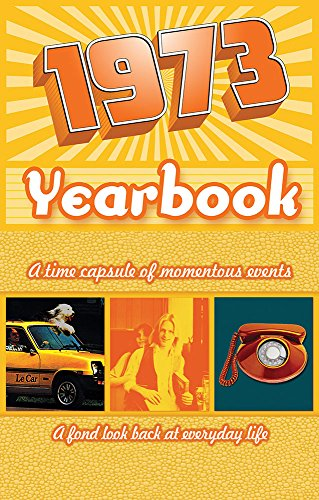 1973 Yearbook Celebration KARDLET: Birthdays, Anniversaries, Reunions, Homecomings, Client & Corporate Gifts