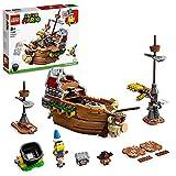 LEGO 71391 Super Mario Set de Expansión: Fortaleza Aérea de Bowser, Juguete de Construcción...