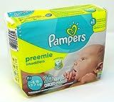 Pampers Swaddlers Preemie New Baby Diapers 20 ea