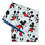 Bumkins Disney Mickey Mouse Splat Mat, Waterproof, Washable for Floor or Table, Under Highchairs, Art, Crafts, Playtime - 42x42