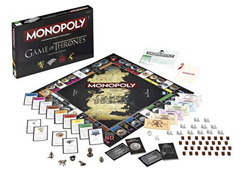 Juego de Tronos Monopoly - Edición, versión Inglesa