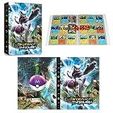 Classeur compatible avec cartes Pokemon, Album Compatible Avec Cartes Pokemon GX...