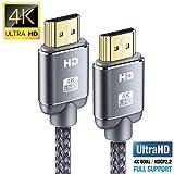 Câble HDMI 4K 2m - Snowkids Câble HDMI 2.0 Haute Vitesse par Ethernet en...