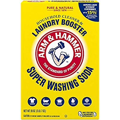 Can be used all around the home: cleans laundry, bathtubs, microwaves, refrigerators and more Increases your detergent's cleaning power to get out ground in dirt and stains 100% fragrance and phosphate free All-natural solution to help remove odors ...