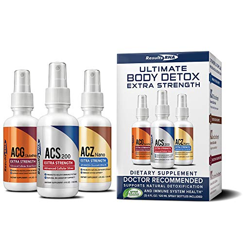 Results RNA Ultimate Body Detox Extra Strength | Unparalleled Immune System Support - 4oz, 3 Count 1