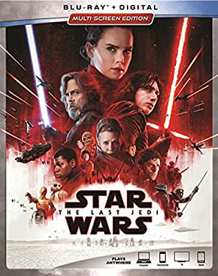 Blu-ray + Digital Multiscreen Edition - Disney Store Pre-Order Exclusive with Lithographs Includes four lithographs: Chewie and Porg, Rey Overlook Ahch-To, Finn vs Phasma, Kylo Ren