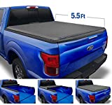 Tyger Auto T1 Soft Roll Up Truck Bed Tonneau Cover for 2015-2020 Ford F-150  Styleside 5.5' Bed  TG-BC1F9029