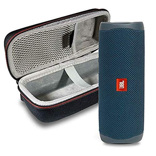51zAvLSbVZL This Bundle Includes: (1) JBL FLIP 5 Portable Bluetooth Speaker and (1) Portable Hardshell Case A full–featured IPX7 waterproof portable Bluetooth speaker with surprisingly powerful sound
