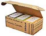 Crate 61 For Him Soap 6-Pack Box Set, 100% Vegan Cold Process Bar Soap, scented with premium essential oils and natural flavors, for men and women, face and body.