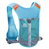 Azarxis Gilet d'Hydratation Running Sac Trail Sac d'Hydratation Sac à Dos Gilet Running pour Homme...