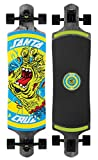 Santa Cruz Skateboards Rob Hand Foot Stop Black Drop Thru Cruzer Skateboard, 10' x 40', Multicolor