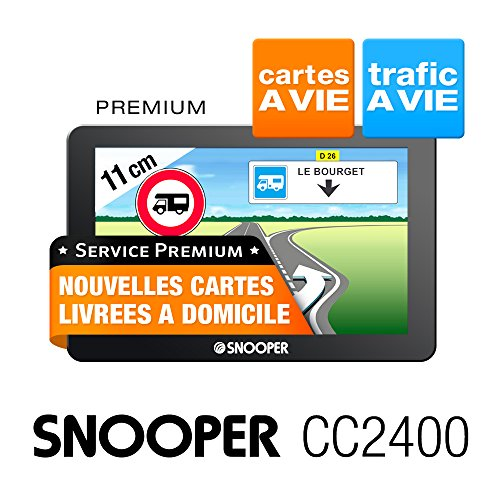 Snooper cc2400GPS Auto-Central Europe (:–10,9cm Bildschirm 4GB...