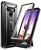 SUPCASE Unicorn Beetle Pro Series Case Designed for LG Stylo 6 (2020 Release),Full-Body Rugged Holster & Kickstand Case with Built-in Screen Protector (Black)