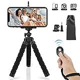 SYOSIN Mini Trépied Portable pour Smartphone, Caméra, Gopro, Trépied...