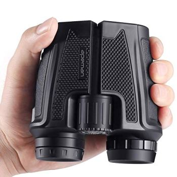 APEMAN 12x25 Compact Binoculars for Adults and Kids with Clear Weak Light Vision, Lightweight(0.51lbs.) Binoculars for Wildlife Watching, Travel, Theater, Sightseeing, Sports Events and Concerts