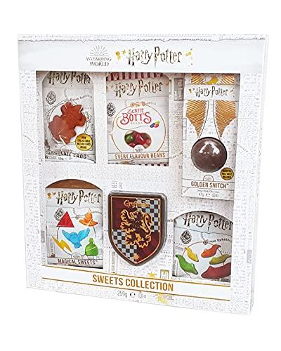 Jelly Belly Harry Potter Geschenk-Set 6er Mix mit Bertie Botts und Schokofrosch