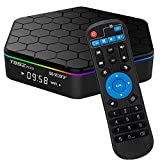 T95Z Plus Android TV Box 3GB RAM/32GB ROM Android 7.1 Octa Core Amlogic S912 TV Box with 4K Dual Band WiFi 2.4GHz/5GHz Bluetooth 4.0 64 Bits