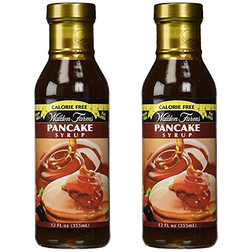 Walden Farms- Calorie Free Pancake Syrup- (Pack of 2 12 oz bottles)