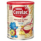 Nestle Cerelac Infant Cereal with Milk From 8 Months Mixed Fruits & Wheat -- 14...