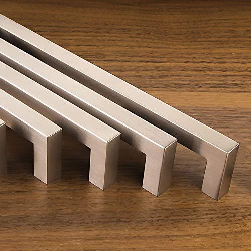 Set da 10 x SO-TECH Maniglie per Mobile E8 vero Acciaio Inox Distanza Fori 128 mm Maniglie per...