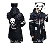 Ajpicture Reaper Costume Long Jacket Coat Reaper Hoodie Cosplay Costume (Large)