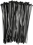Mytlp Bridas de nailon con cierre automático para casa, oficina, garaje, taller, 100 unidades de 300 mm x 5 mm