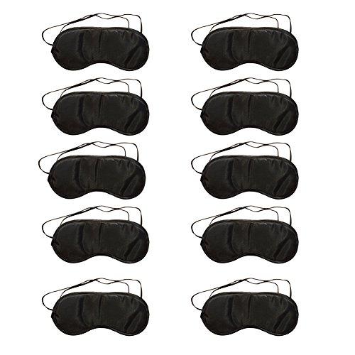 Cosanter 10 X Noir Masque de Voyage Anti Fatigué Masques de Sommeil...