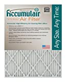 Accumulair Platinum 16x30x1 (15.5x29.5) MERV 11 Air Filter/Furnace Filters (6 pack)