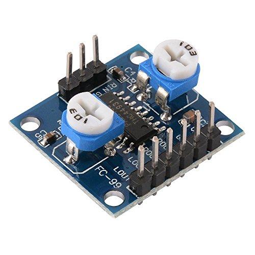 xcluma 5W X 2 Volume Adjustable D Class Board Module Pam8406 Digital Amplifier Board