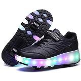 Super kids Unisex Enfants LED Chaussure avec roulettes 7 Coloris...