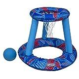 SwimWays - 6038059 - Panier de Basketball + Ballon Hydro - Jeu de...
