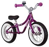 Schwinn Skip 4 Toddler Balance Bike, 12-Inch Wheels, Beginner Rider Training, Purple/White