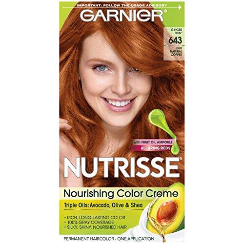 Garnier Nutrisse Nourishing Color Creme [643] Light Natural Copper