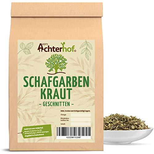 1 kg Schafgarbenkraut geschnitten Schafgarbenkrauttee Schafgarbe Kräutertee natürlich vom-Achterhof